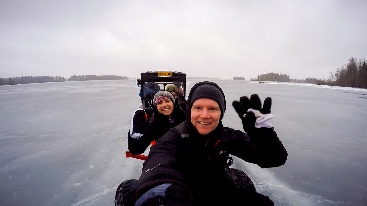 finland winter fishing