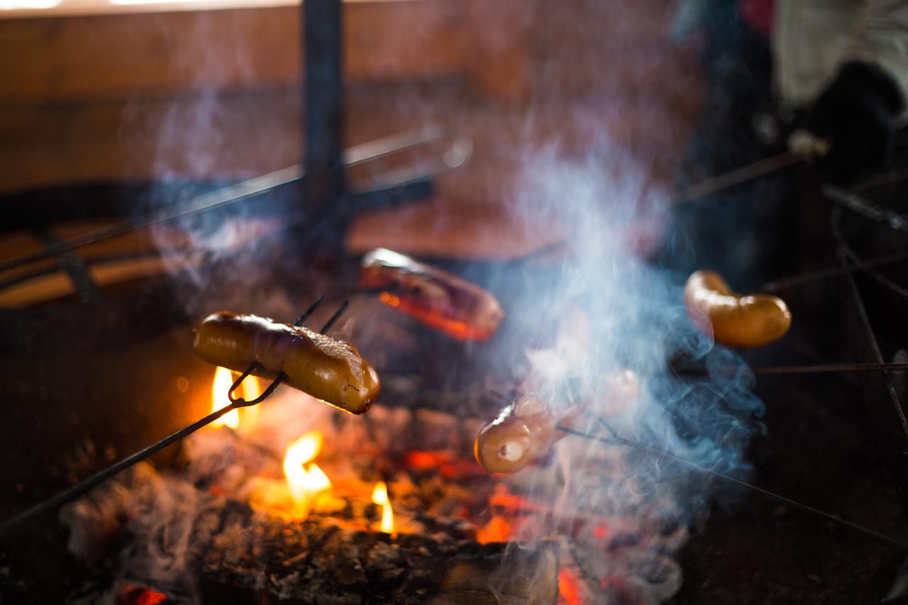 finland winter BBQ