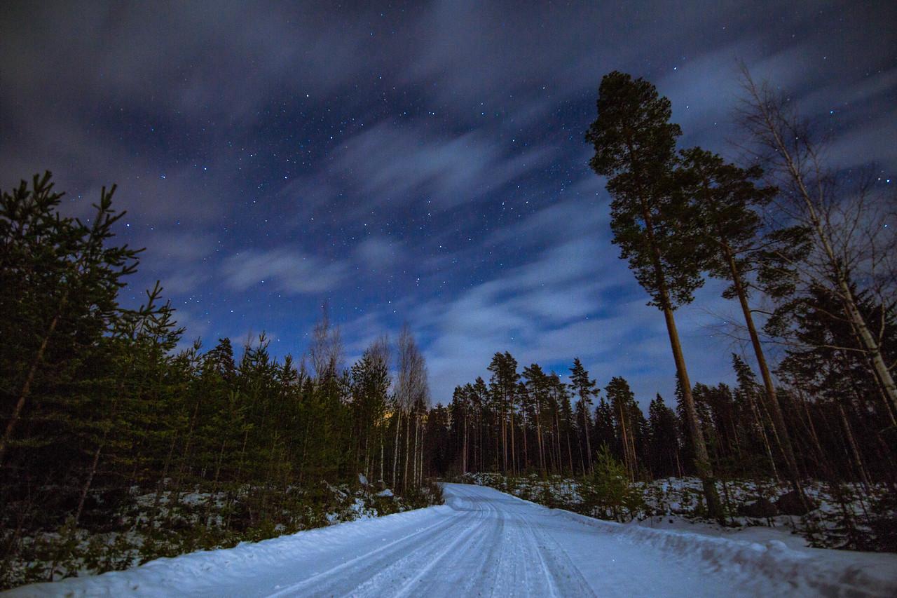 finland winter stars