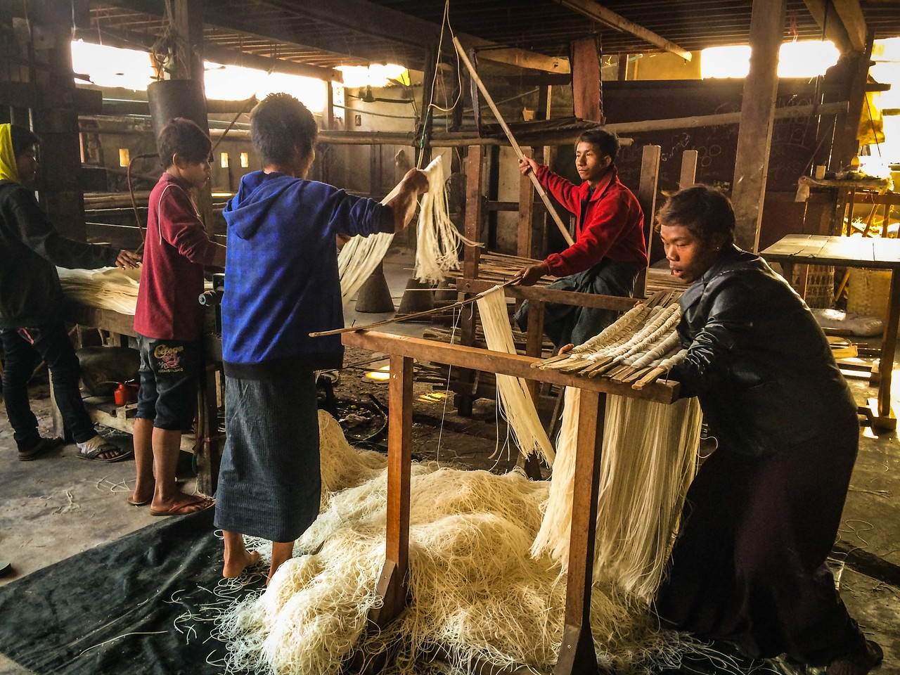 Hsipaw Noodle Manufacturing