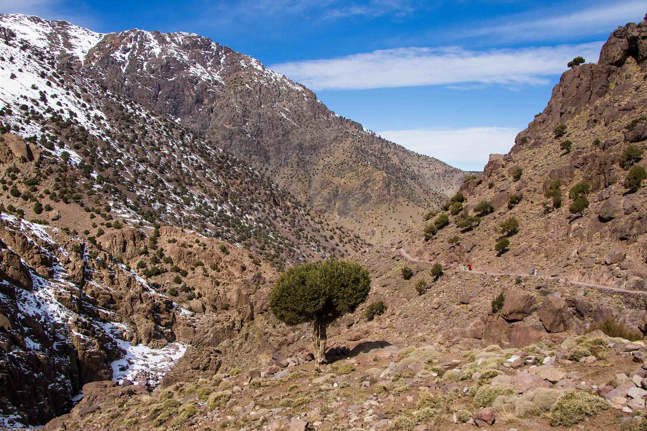 jebel toubkal winter ascent
