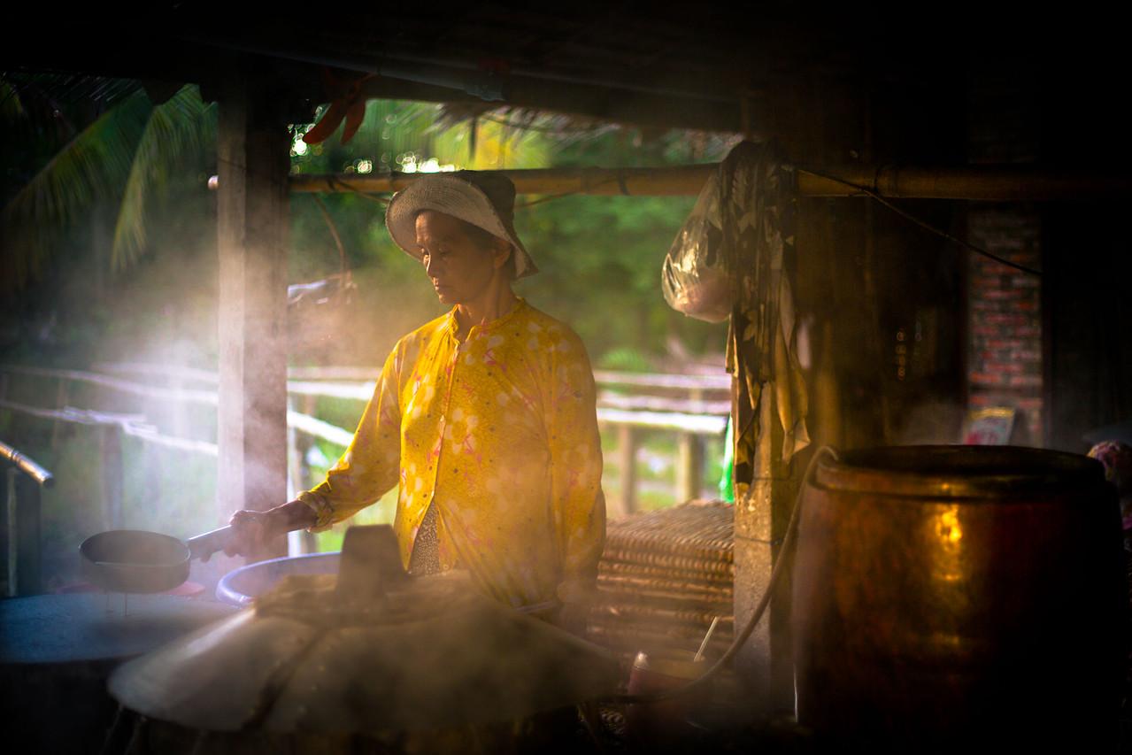 mekong delta coconut factory