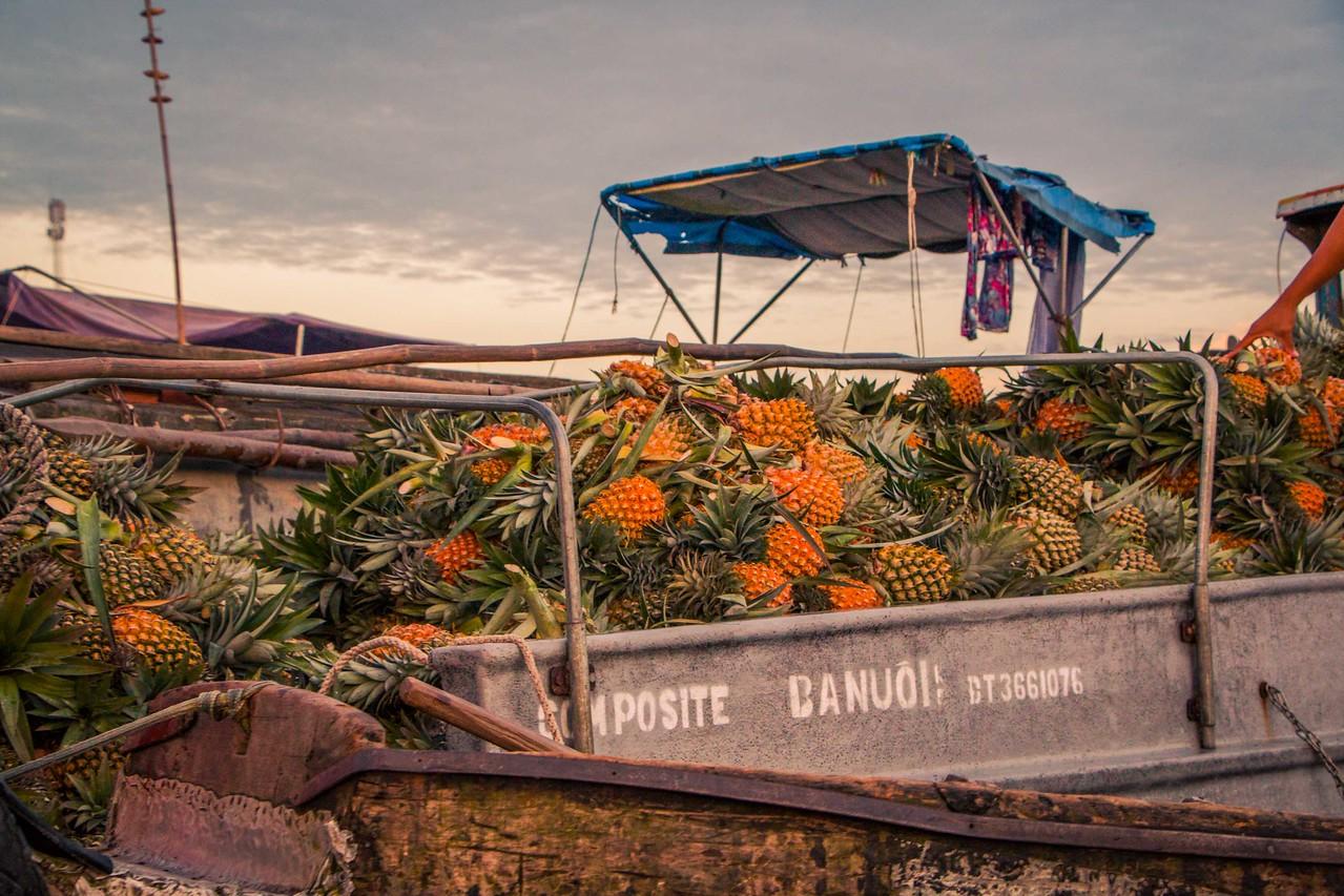 cai rang market can tho mekong delta