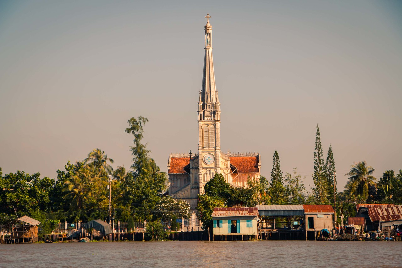 Vinh Long Province. Mekong Delta Vietnam