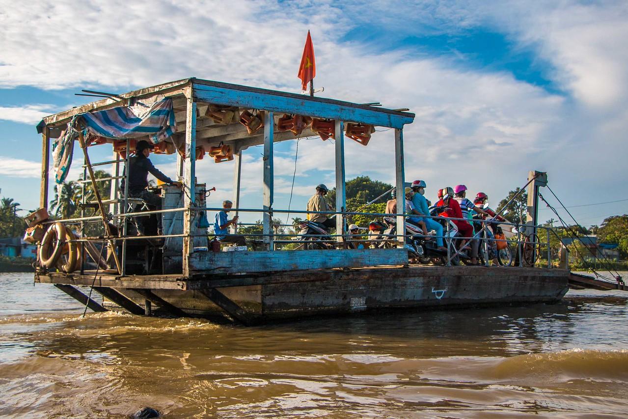 mekong delta ferry