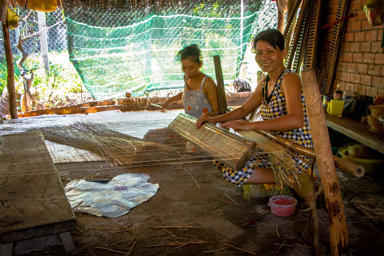 Mekong Delta weavers