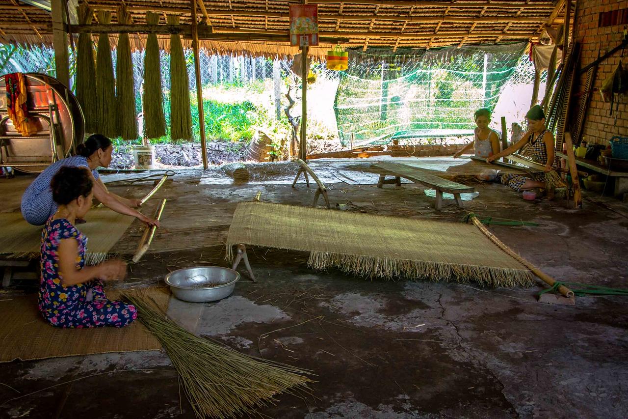 Mekong Delta weave factory