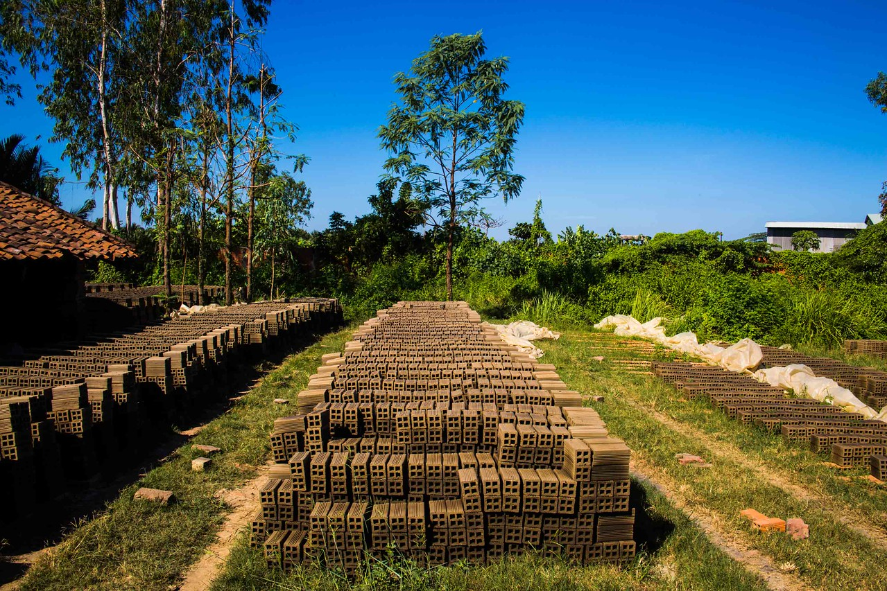 Mekong delta brick tour
