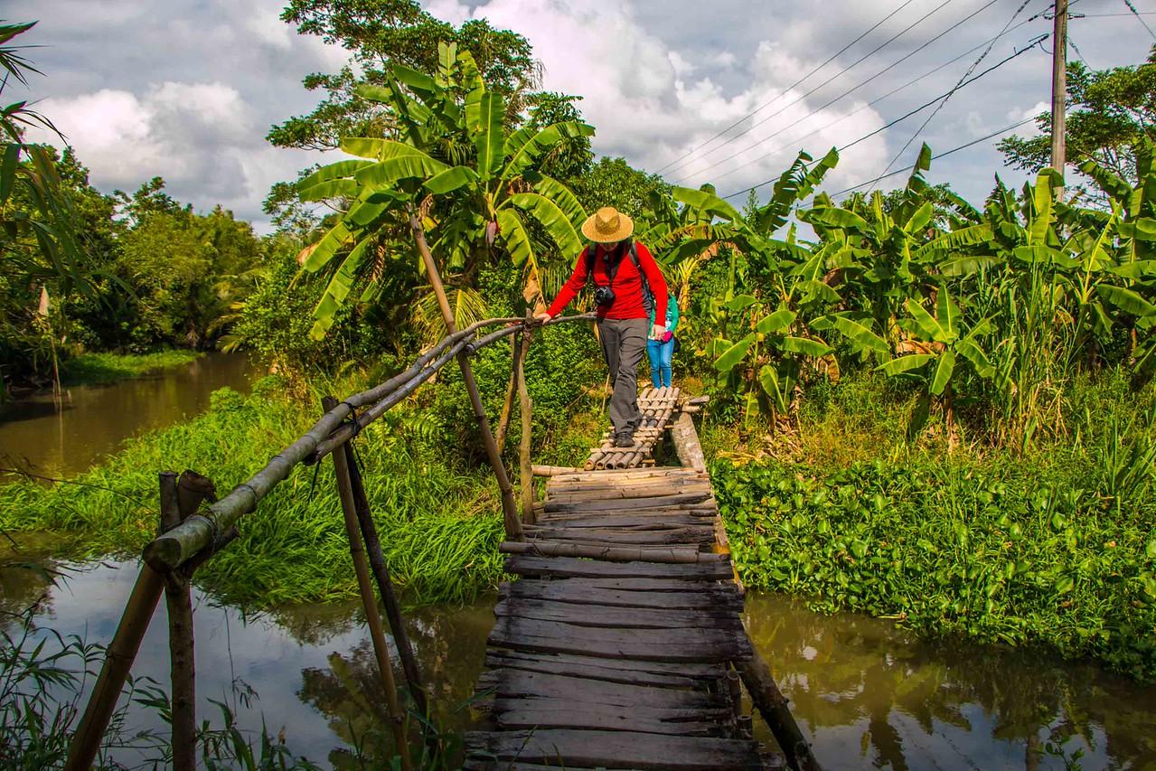 Mekong village life