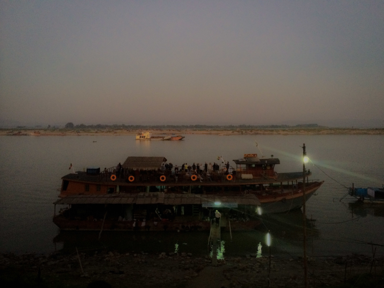 mandalay to bagan slow boat