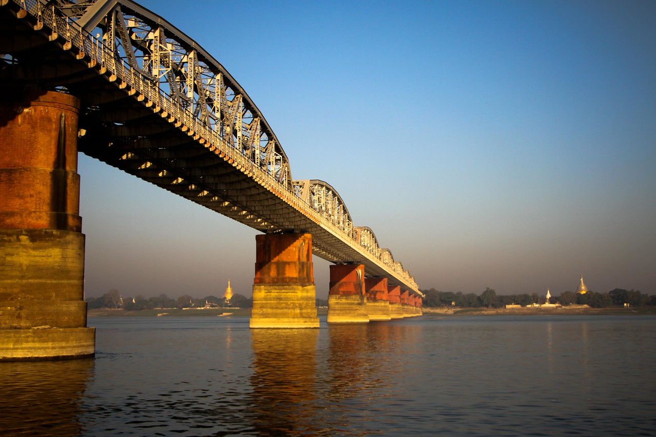 mandalay to bagan bridge