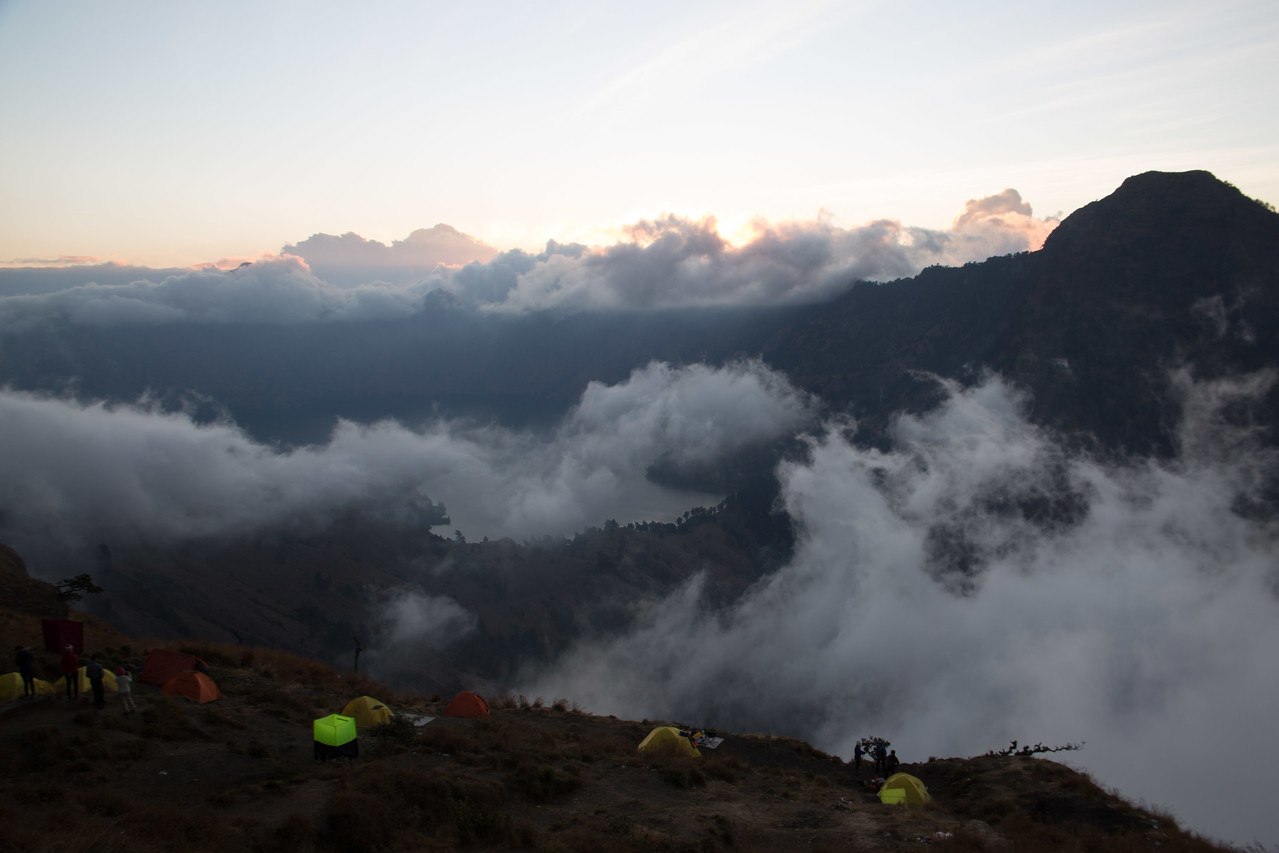 RInjani trek crater lake