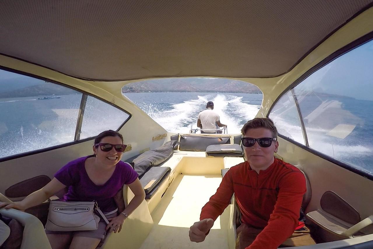 Rudy Trekker speedboat