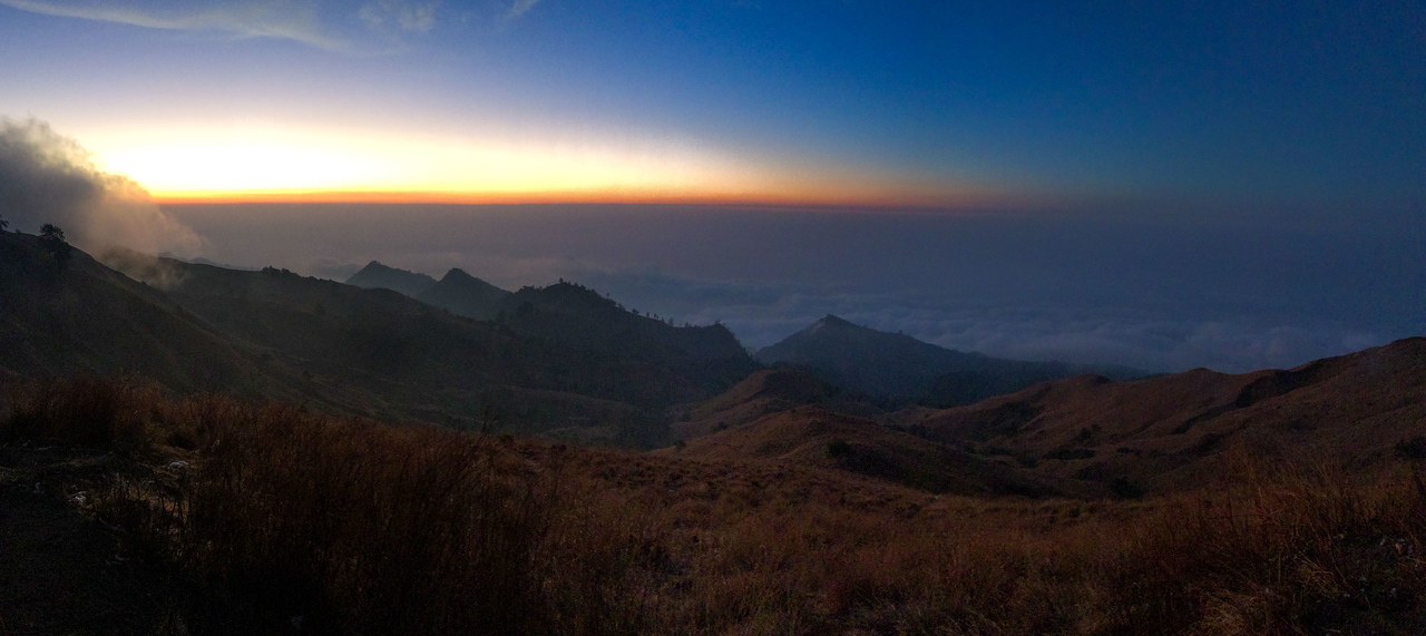 Mount Rinjani trek Camp Night 3